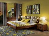 寝室の家具か現代木のブラウンカラーベッドサイド・テーブル(I&D-G10292)