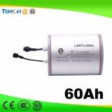 Batería 11.1V Almacenamiento de energía solar 60Ah Luz de ciclo profundo de litio