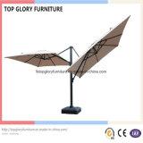 Doppi ombrelli romani di alluminio per mobilia esterna (TGTA-001)