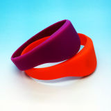 RFID Fitness NTAG213 pulseira Silicone NFC Wrist band