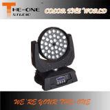 4en1 RGBW LED luz principal móvil con zoom