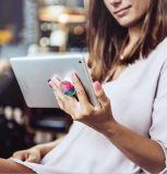 SmartphonesおよびタブレットのためのPopsocketの電話立場の拡大の立場そしてグリップ