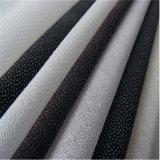 Interlining ткани ворота рубашки 70GSM взаимодействуя сплавляя сплетенный смолаой плавкий