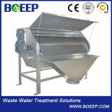 Equipamento pequeno do tratamento da água do filtro de cilindro giratório da pegada