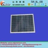 18V 30W Poli panel solar para el sistema de 12V (2017)