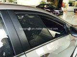 CorollaのためのSee-Through黒いメッシュ生地の鋼線の組み立てられた日よけ