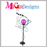 Elegant Metal Arts Garden Solar Powered Stake Light