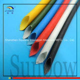 Sunbow Zelf dooft de Glasvezel Sleeving van de Hars van het Silicone UL