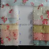 숙녀를 위한 Dress Fabric 인쇄된 자카드 직물 시퐁 직물