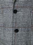 Hete die Verkoop aan de Overjas van de Tweed van de Mensen van de Plaid van de Maatregel wordt gemaakt
