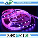 12V 5M Branco PCB Waterproof WS1903 IC 5050 RGB Dream Color 48LED / M LED Pixel Strip