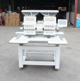 الصين [هوليوما] مصنع تطريز آلة سعر عادية سرعة 2 غطاء رئيسيّة أنبوبيّة تطريز آلة [هو1502ن]