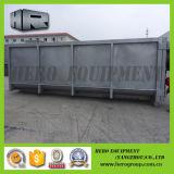 Conteneur galvanisé de roulier de coffre de conteneur de Hooklift