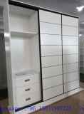 Schlafzimmer-Schiebetür-Garderoben mit Schienen