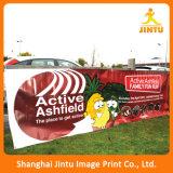 Bandera colgante de la tela de la calle grande de la impresión para la promoción