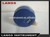 Calibrador y manómetro plateados cromo de presión de 011 Freón