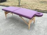 Hölzerner beweglicher Massage-Tisch mit justierbarer Kopfstütze