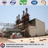 대규모 공장을%s 질에 의하여 보장되는 무거운 강철 구조물
