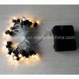 Impermeable árbol de Navidad Decoración al aire libre LED Ventana de bolas redondas Sting luces