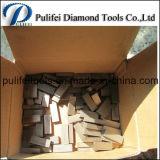 Этап камня мрамора вырезывания диаманта прямоугольника для вырезывания гранита