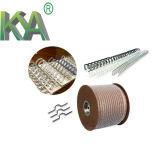 Nastro metallico a spirale rivestito di nylon