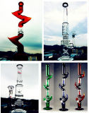 De in het groot Rokende Waterpijp van het Glas van de Vorm van de Percolator van de Beker van de Basis van de Boom van het Wapen met Materiaal Borosilicate