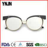 Ynjnの高品質の新しいデザイナー男女兼用の特有なサングラス