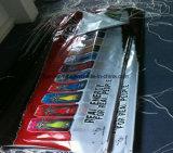 Impresión de encargo al aire libre que hace publicidad de la bandera del PVC del vinilo (SS-VB85)