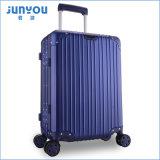 Рамка 4 Junyou высокая Qualilty алюминиевая катит 24 мешка багажа перемещения дюйма красных на сбывании