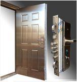 Puerta inoxidable de la seguridad de la puerta del acero inoxidable de la alta calidad