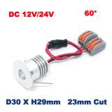 mini éclairage de l'ÉPI DEL de lumière de Module de 3W 12V 24V