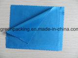 Подгонянный цвет ткани чистки Microfiber голубой