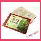 Le bustine di tè nere personalizzate Pacgaging di plastica insacca i sacchetti impaccanti dell'alimento per animali domestici