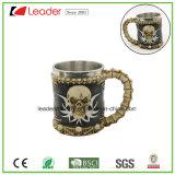 Tasse de café en crâne 3D en acier inoxydable pour promotion Cadeau et décoration pour la maison