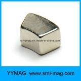 Van het neodymium van de Boog van het Segment de Lage T/min Permanente Magneet van de Magneet