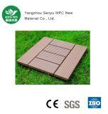 Decking del suelo de DIY WPC para al aire libre