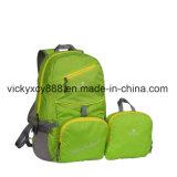 Bolso doble plegable impermeable del morral del deporte del almacenaje del hombro de las compras (CY3703)