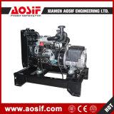 Conjunto de generador diesel industrial de la conexión eléctrica del generador de potencia