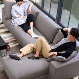 Il sofà moderno ha impostato per la mobilia del salone con di legno solido