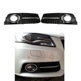 Grades do carro para lustro lateral dianteiro abundante da grade da lâmpada da luz de névoa de Audi A4 B8 o mais baixo