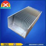 Industriële die Heatsink van Legering van het Aluminium 6063 wordt gemaakt