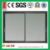 Finestra di alluminio diretta del cursore di prezzi di fabbrica