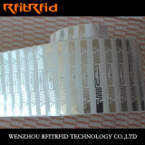 Упорно к сильному ярлыку кислоты RFID