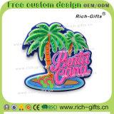 Ricordo promozionale personalizzato Dominica dei magneti del frigorifero del silicone dei regali (RC- FANNO)