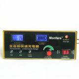 Carregador de bateria inteligente de 12V/24V 200ah com indicador de diodo emissor de luz