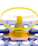 Jogo eletrônico do bloco do brinquedo educacional de DIY