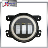 """Mejor precio 4 pulgadas 30W LED Spot Fog lámpara 4 """"Luces de niebla LED con blanco DRL Halo Rings LED pasando lámpara de Jeep WRANLGER TJ / JK / CJ / FJ Toyota"""