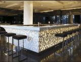 Contador de venda superior da barra de Commerical do restaurante do contador da barra do projeto moderno