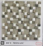 2016 Diseño Neweat Mármol natural en mosaico de mármol / azulejo de mosaico de cerámica (FYSL400-1)