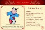 Boneca dos esportes para a aparência vívida
